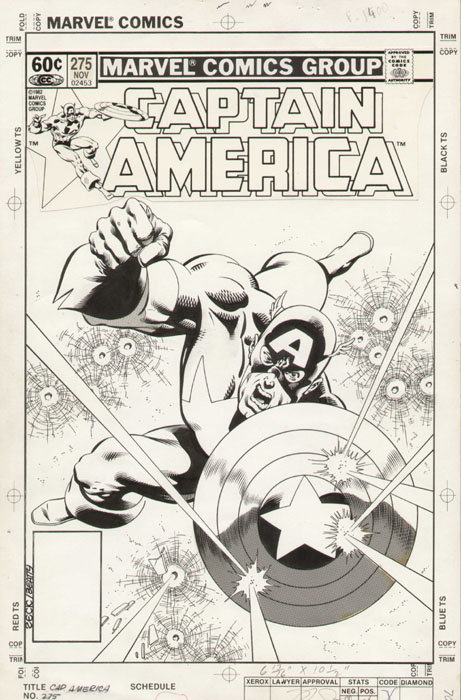 Zeck-CAPTAIN AMERICA n.275 cover